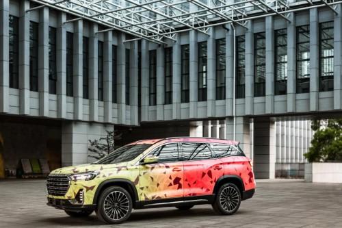 奇瑞捷途全新中大型SUV伪装车细节解析,或为家族最新高端车型